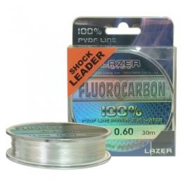 Lazer Fluorocarbon PVDF Shock Leader