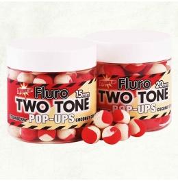 Плуващи топчета DB Boilie Pop Up Two Tone - Strawberry & Coc