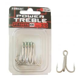 Тройни куки Power Treble 166TN-4X