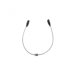 Costa връзка за очила тип жица - черна