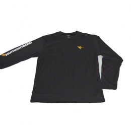 Блуза Humminbird Long Sleeve Performance Tee-Black