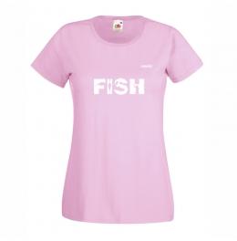 Тениска FISH Дамска - Розова