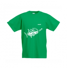 Тениска GT Детска  - Зелена