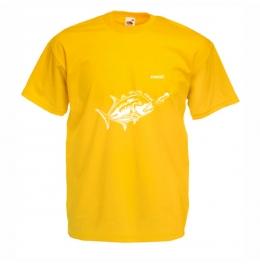 Тениска GT Мъжка - Жълта