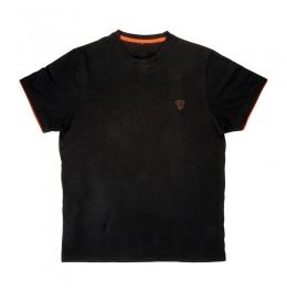 Тениска Black Orange Brushed Cotton T