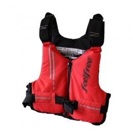 FeelFree - Плуваща жилетка BASIC RED
