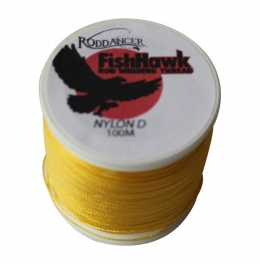 Конец за водач FishHawk Nylon Whipping Thread Goldenrod