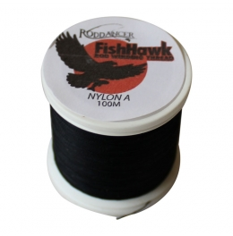 Конец за водач FishHawk Nylon Whipping Thread Black