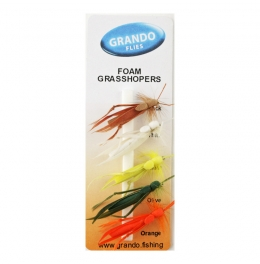 Мухи комплект Foam Grasshoppers