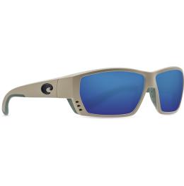 Costa - Tuna Alley - Matte Sand - Blue Mirror 580P