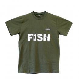 Тениска FISH Мъжка - Зелена