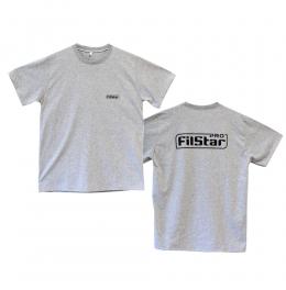 тениска filStar сива риболовна лого