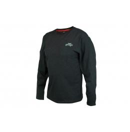Fox Rage Black Marl Tee Long Sleeve fishing t-shirt
