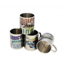 термо чаша Inox, риболовен къмпинг, риболов