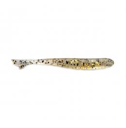 Силикон BB - Fish tail U30 - 143 - Clear/Black-Gold Flake