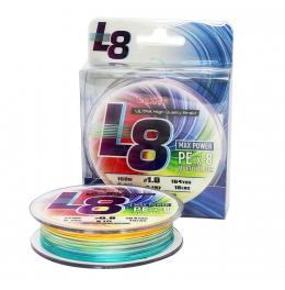 Плетено влакно Lazer PE L8 Multicolour