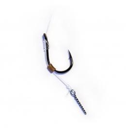 вързани куки за метод фидер риболов, клин за топче